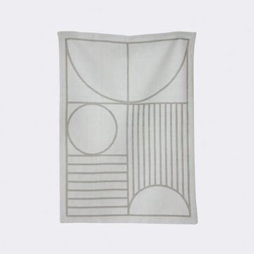 Ściereczka Ferm Living Outline Grey