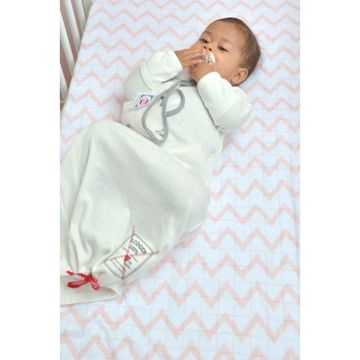 Śpiworek Lodger Hopper NewBorn Milk 50-62