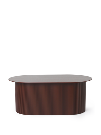 Stolik kawowy Ferm Living Podia, Red Brown