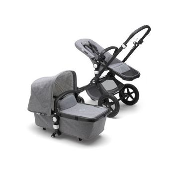 Wózek Bugaboo Cameleon 3 Plus BLACK/GREY MELANGE Classic Collection