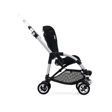 Wózek spacerowy Bugaboo Bee5 BLACK+/BLUE MELANGE z budką RUBY RED