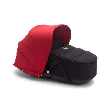 Wózek spacerowy Bugaboo Bee6  baza ALU/BLACK z budką RED