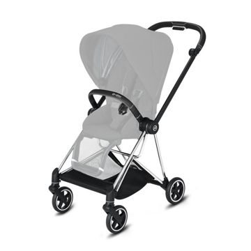 Wózek spacerowy Cybex Mios 2.0 na stelażu Chrome Black, Mustard Yellow