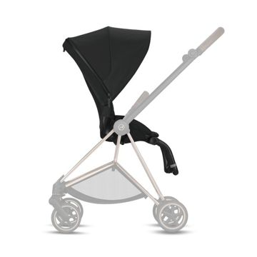 Wózek spacerowy Cybex Mios 2.0 na stelażu Chrome Brown, Midnight Blue Plus