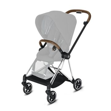 Wózek spacerowy Cybex Mios 2.0 na stelażu Chrome Brown, Mustard Yellow