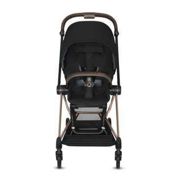 Wózek spacerowy Cybex Mios 2.0 na stelażu Chrome Brown, Nautical Blue