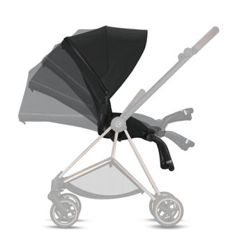 Wózek spacerowy Cybex Mios 2.0 na stelażu Chrome Brown, Soho Grey