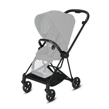 Wózek spacerowy Cybex Mios 2.0 na stelażu Matt Black, Nautical Blue