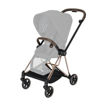 Wózek spacerowy Cybex Mios 2.0 na stelażu Rose Gold, Manhattan Grey Plus