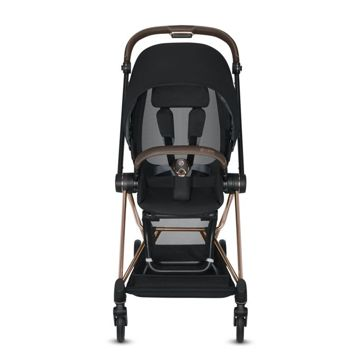 Wózek spacerowy Cybex Mios 2.0 na stelażu Rose Gold, Mountain Blue