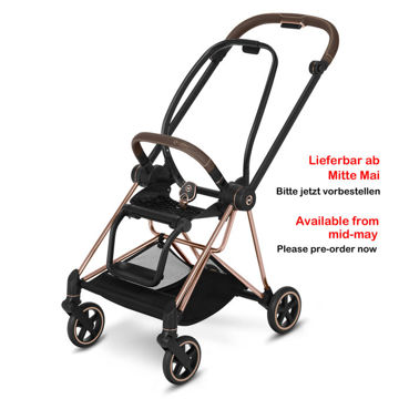 Wózek spacerowy Cybex Mios Spring Blossom Light na stelażu Rose Gold