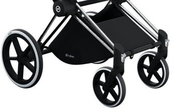 Wózek spacerowy Cybex Priam Birds of Paradise na stelażu Rose Gold z siedziskiem LUX